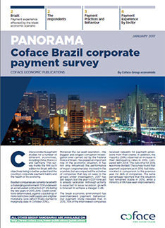 Panorama: Coface Brazil Corporate Payment Survey